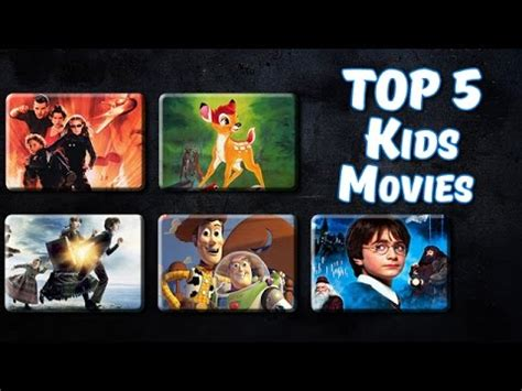 Top 5 Best Kids Movies of All Time   YouTube