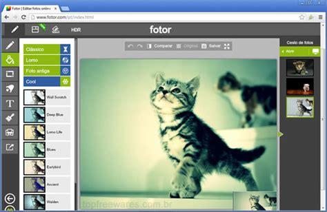 Top 5 editores de fotos online gratuitos