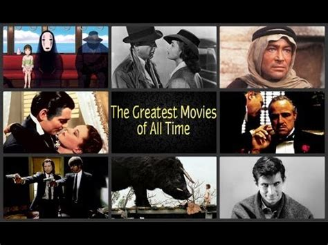 Top 50 Greatest Films of All Time  The Best Movies Ever ...
