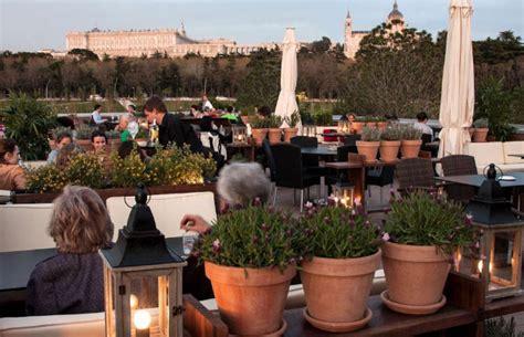Top restaurantes: terrazas para tomar una copa en Madrid ...