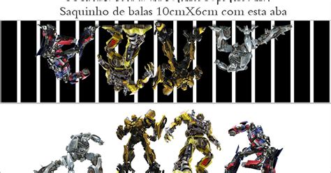 Transformers: etiquetas para imprimir gratis.   Ideas y ...