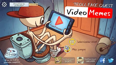 Troll Face Quest, eres un troll, disfrútalo. | Smartblog