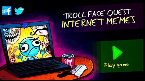 Troll Face Quest Internet Memes   All Secrets LEVELS IOS ...