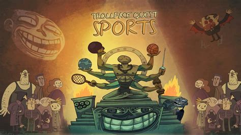 Troll face Quest Sports puzzle прохождение