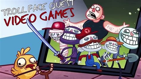 Troll Face Quest Video Games   All Levels Walkthrough ...