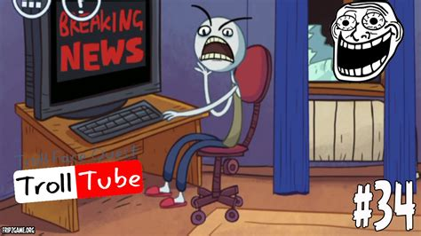 Troll Face Quest Video Memes Level 34 Walkthrough   YouTube