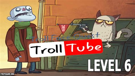 Troll Face Quest Video Memes Level #6 Walkthrough   YouTube