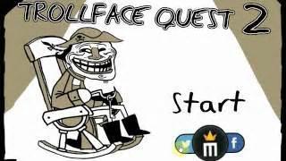 Trollface Quest 2   Juega gratis online en Minijuegos