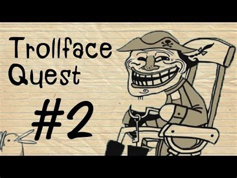 Trollface Quest # 2 : เป็ด M in K   YouTube