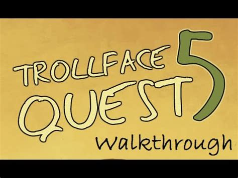 Trollface Quest 5: World Cup 2014 Walkthrough   YouTube
