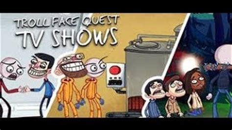 Trollface Quest: TV Shows   Juega gratis online en Minijuegos
