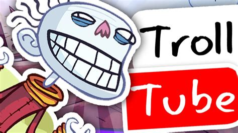 TROLLFACE QUEST; YOUTUBE EDITION!!   YouTube