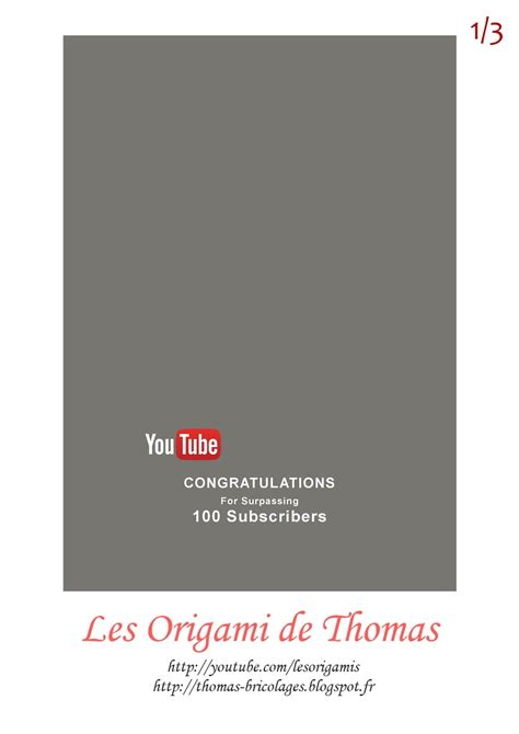 Trophée Youtube 100 Abonnés !!! Tutoriel bricolage