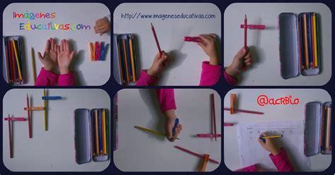 Truco enseñar a coger el lápiz correctamente Portada ...