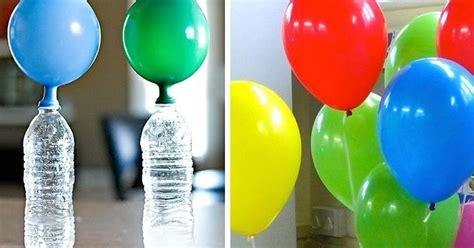 Truco para hacer que los globos vuelen sin usar helio ...