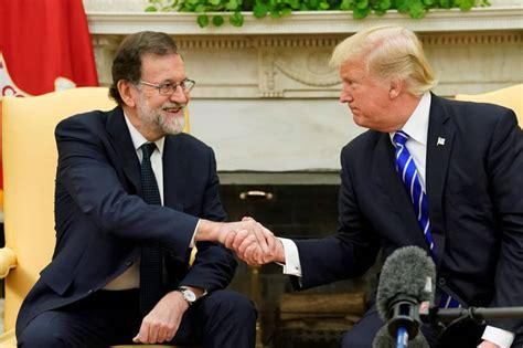 """Trump: """"España es un gran país y debería permanecer unido ..."""