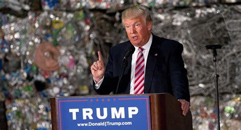 Trump trashes GOP trade agenda   POLITICO