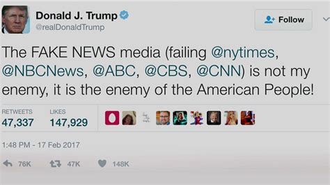 "Trump Tweets Media is ""Enemy of the People""; McCain ..."
