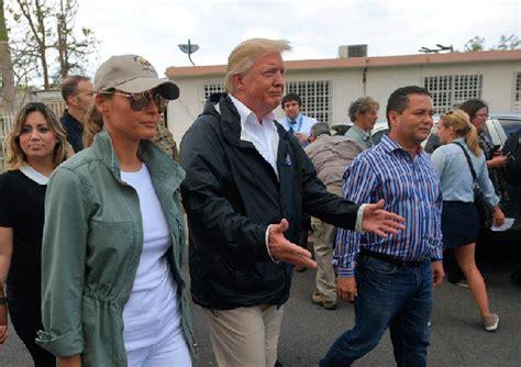 Trump visita Puerto Rico – Noticias Última Hora de Guatemala