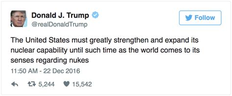 Trump's Nuclear Weapons Tweet, Translated and Explained ...