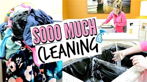 ULTIMATE CLEAN WITH ME | MAJOR CLEANING MOTIVATION with ...