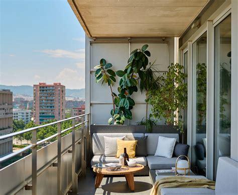 Un piso para soñar en Barcelona | Balcones, Terrazas y Moderno