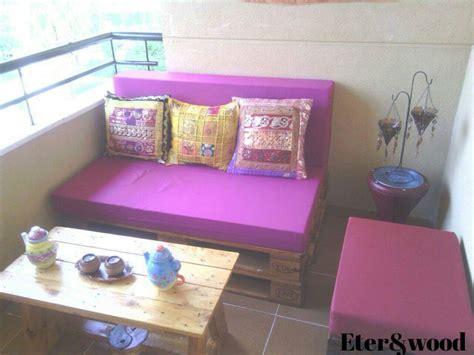 Un rincón chillout con palets para una terraza – I Love Palets