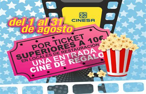 UNA ENTRADA CINE DE REGALO   Centro Comercial El Muelle
