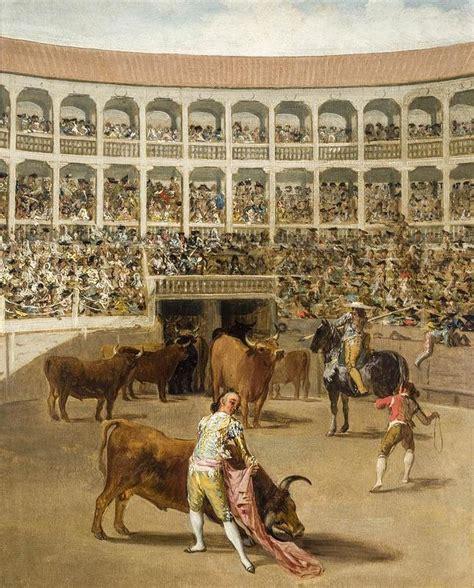 Una pintura de Goya ilustra la corrida rondeña de Morante