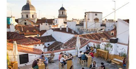 Una terraza buena y barata en el cielo de Madrid ...