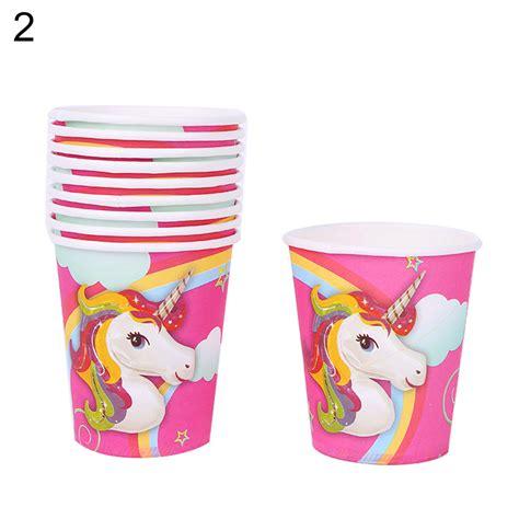unicornio Temática Artículos Para Fiestas Decoración Feliz ...
