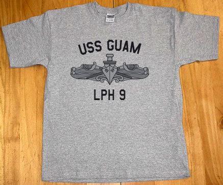US Navy USS Guam LPH 9 T Shirt | eBay