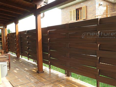 vallado jardin y cerramientos en madera sintética