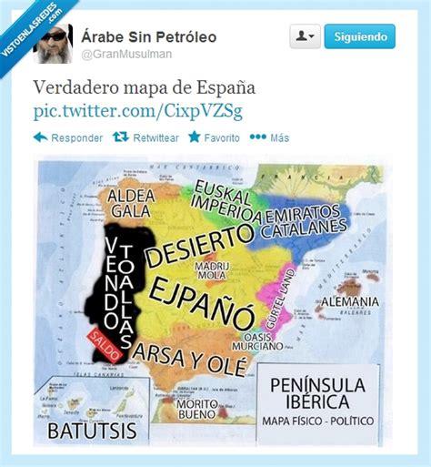 VEF > Visto en las Redes > Verdadero mapa de España por ...