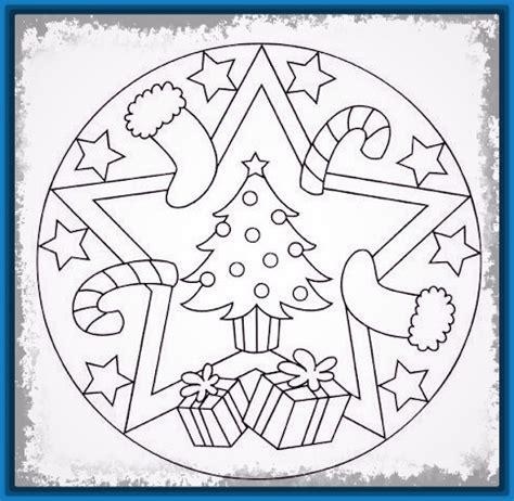 ver mandalas de navidad para imprimir y colorear Archivos ...