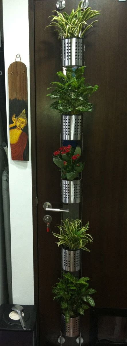 Vertical garden for small plants or herbs   IKEA Hackers ...