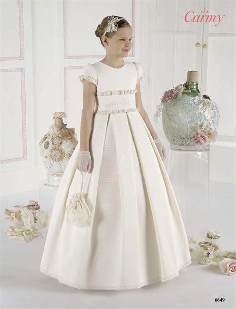 vestido comunión 6649 | COMUNIONES niña | Pinterest
