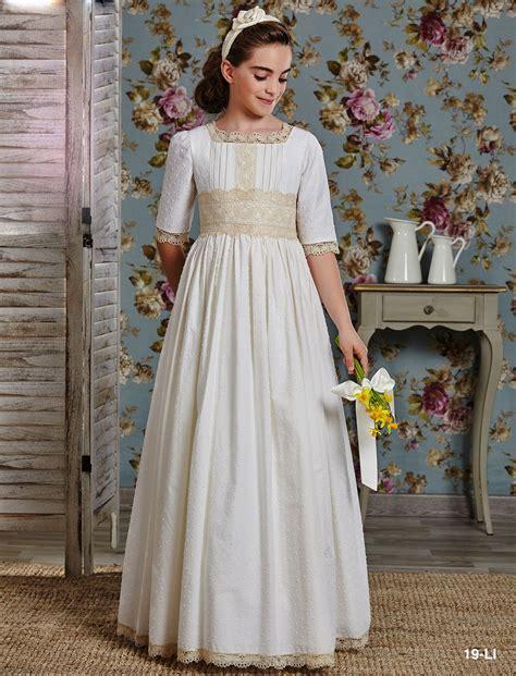 Vestido Comunión Romántico 19LI | Comuniones | Pinterest