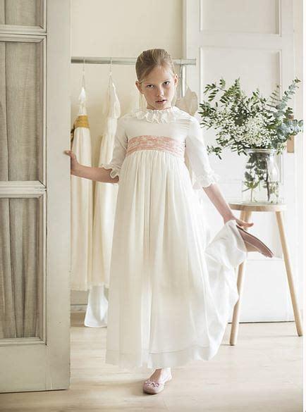 Vestidos de comunión para niñas 2018: sencillos, modernos ...