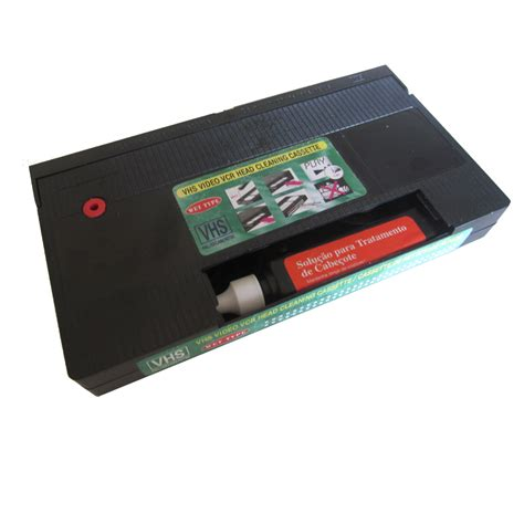 VHS Video VCR Head Cleaner + Cleaning Fluid Fast Post! Wet ...