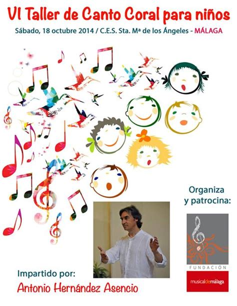 VI Taller de Canto Coral para niños, por Antonio Hernández ...