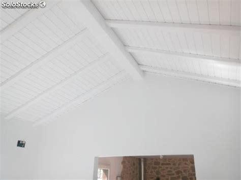 Vigas decorativas imitacion madera en blanco