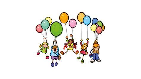 vinilo niños con globos
