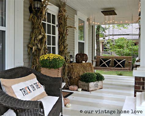 vintage home love: Autumn Porch Ideas