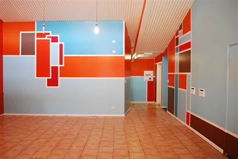 Wall Design Ideas Abstract Full Color Rukle Paint Colors ...