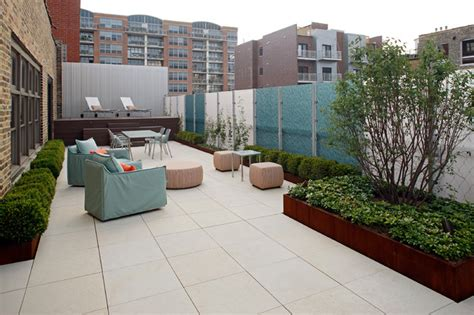 Warehouse Roof Terrace   Contemporary   Patio   Chicago ...