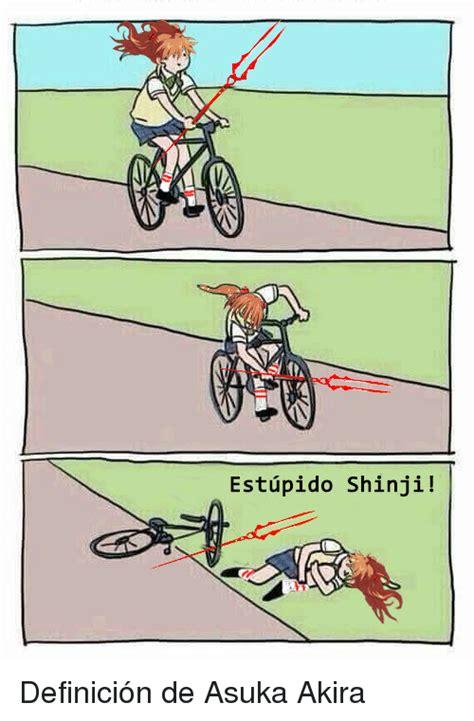 WAY Estupido Shinji! Definición De Asuka Akira | Meme on me.me