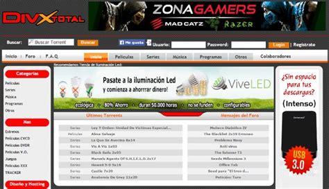 Webs para descargar torrents en español