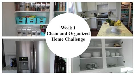 Week 1: 2016 Clean and Organized Home Challenge | Kitchen ...