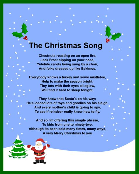 What are Christmas songs sang by groups?